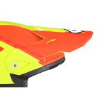 6D Kinder Helmklep ATR-2Y Helo LE - Geel / Oranje / Rood