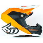 6D Crosshelm ATR-1 Wedge - Mat Oranje