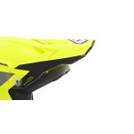 6D Kinder Helmklep ATR-2Y Stripe - Neon Geel / Grijs