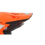 6D Kinder Helmklep ATR-2Y Stripe - Oranje / Wit