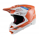 Alpinestars Crosshelm S-M8 Contact - Oranje / Grijs