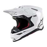 Alpinestars Crosshelm S-M8 Solid - Wit