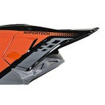 Alpinestars Helmklep S-M8 Triple - Grijs