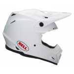 Bell Crosshelm Moto-9 Solid - Wit
