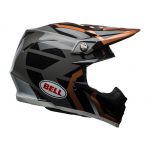 Bell Crosshelm Moto-9 Mips District Gloss - Koper / Zwart / Charcoal