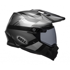 Bell Helm MX-9 Adventure Maurader - Mat / Glans Blackout