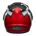 Bell Helm MX-9 Adventure Switchback - Mat Zwart / Rood / Wit