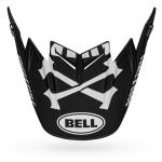 Bell Helmklep Moto-9 Flex Fasthouse - Zwart / Wit / Rood