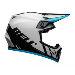 Bell Crosshelm MX-9 Dash - Wit / Blauw