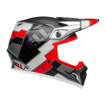Bell Crosshelm MX-9 Twitch Replica - Zwart / Rood / Wit