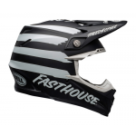Bell Crosshelm Moto-9 Fasthouse Signia - Zwart / Wit