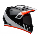 Bell Helm MX-9 Adventure Dash - Zwart / Wit / Oranje