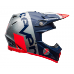 Seven Crosshelm Moto-9 Flex Galaxy - Navy / Zilver