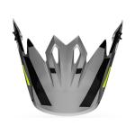 Seven Helmklep MX-9 Equilizer - Grijs / Zwart / Hi-Viz
