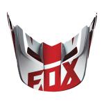 Fox Helmklep 2016 V1 Race - Rood XXS/S