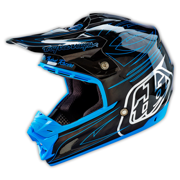 Troy lee designs motocross helmet 2016 se3 doubleshot cf for Helm design