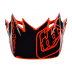 Troy Lee Designs Helmklep 2018.2 SE4 Polyacrylite Factory - Oranje
