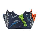 Troy Lee Designs Helmklep 2019 SE4 Composite Baja - Oranje