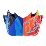 Troy Lee Designs Helmklep 2019 SE4 Composite Jet - Navy / Oranje