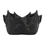 Troy Lee Designs Helmklep 2019 SE4 Polyacrylite Baja - Zwart