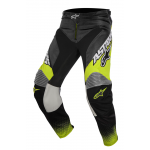 Alpinestars Crossbroek 2017 Racer Supermatic - Geel/ Grijs