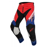 Alpinestars Crossbroek 2017 Racer Supermatic - Rood / Blauw / Wit