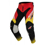 Alpinestars Crossbroek 2017 Racer Supermatic - Rood / Zwart / Geel