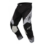 Alpinestars Crossbroek 2017 Racer Supermatic - Zwart / Grijs / Wit