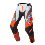 Alpinestars Crossbroek 2017 Techstar Factory - Oranje / Blauw / Wit