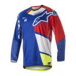 Alpinestars Cross Shirt 2018 Techstar Factory - Blauw / Rood / Wit