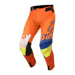Alpinestars Crossbroek 2018 Racer Screamer Jeugd - Oranje/Blauw/Wit