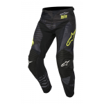 Alpinestars Crossbroek 2018 Racer Tactical - Zwart / Geel Fluo