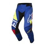 Alpinestars Crossbroek 2018 Techstar Factory - Blauw / Rood / Wit