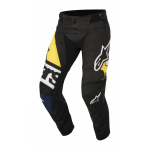 Alpinestars Crossbroek 2018 Techstar Factory - Zwart / Blauw / Wit