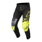 Alpinestars Crossbroek 2018 Techstar Screamer - Zwart / Geel / Grijs