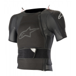 Alpinestars Bodyprotector Short Sleeve Sequence - Zwart