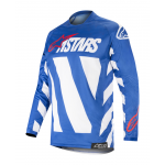 Alpinestars Cross Shirt 2019 Racer Braap - Blauw / Wit / Rood