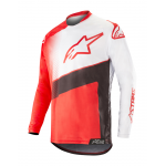 Alpinestars Cross Shirt 2019 Racer Supermatic - Rood / Zwart / Wit