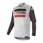 Alpinestars Cross Shirt 2019 Racer Tactical - Zwart / Grijs / Burgundy