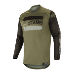 Alpinestars Cross Shirt 2019 Racer Tactical - Zwart / Groen