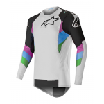 Alpinestars Cross Shirt 2019 Supertech - Cool Grijs / Zwart