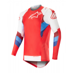 Alpinestars Cross Shirt 2019 Supertech - Rood / Wit