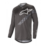 Alpinestars Cross Shirt 2019 Techstar Graphite - Zwart / Antraciet