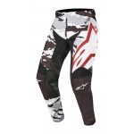 Alpinestars Crossbroek 2019 Racer Tactical - Zwart / Grijs / Burgundy