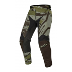 Alpinestars Crossbroek 2019 Racer Tactical - Zwart / Groen