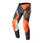 Alpinestars Crossbroek 2019 Supertech - Antraciet / Oranje Fluo