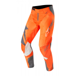 Alpinestars Crossbroek 2019 Techstar Factory - Antraciet / Oranje Fluo