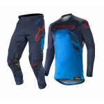Alpinestars Crosskleding 2019 Racer Tech Compass - Navy / Blauw / Burgundy