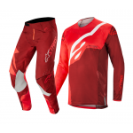 Alpinestars Crosskleding 2019 Techstar Factory - Rood / Burgundy