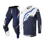 Alpinestars Crosskleding 2019 Techstar Factory - Wit / Donker Navy
